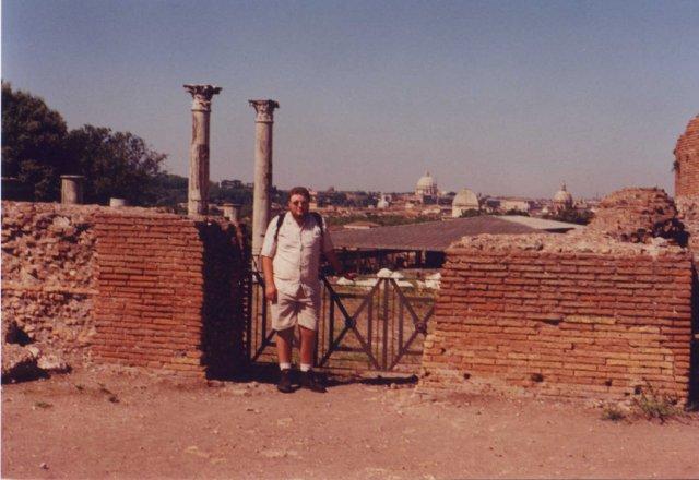 Erik in Rome.