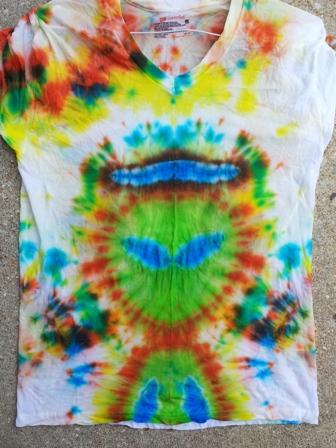 Alex's Tie Dye Alien.