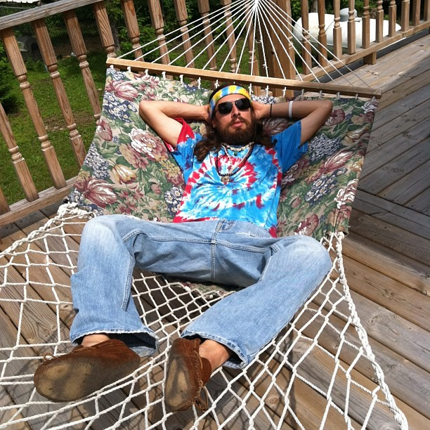Rod Wizzle, Hippie.