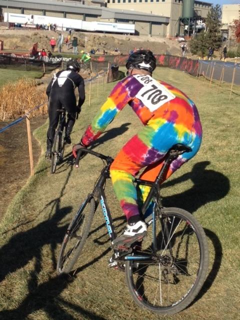 The Tie Dye Biker.