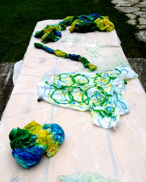 Rod Wizzle Tie Dying.