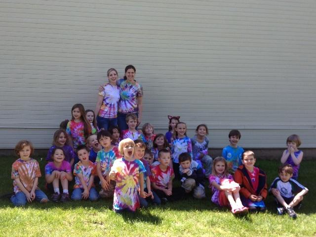 Springdale School Tie Dye Day - June 2013.