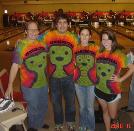 Vermonsters Bowling Team.