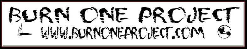 Burn One Project Sticker.