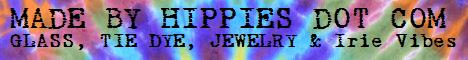 Made By Hippies Dot Com Banner.