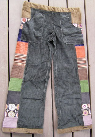 Patchwork Pants.