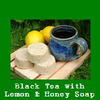 Black Tea with Lemon & Honey Soap