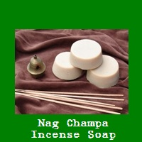 Nag Champa Incense Soap