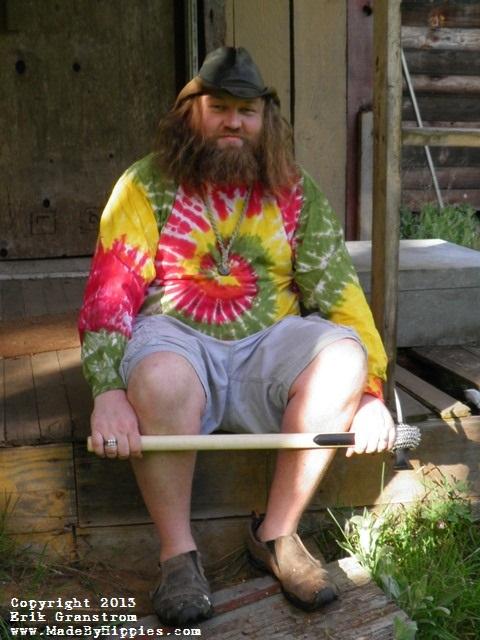 Rastaman Spiral Tie Dye Longsleeve Shirt.