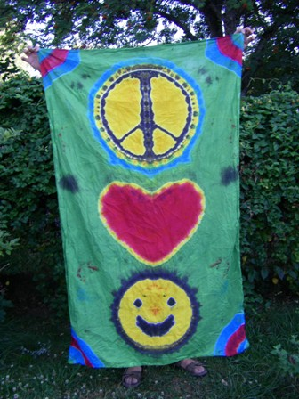 Peace, Love & Happiness Tapestry Sold Out!