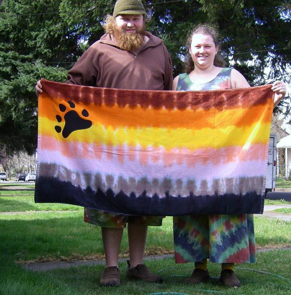 Bears Tie Dye Towel