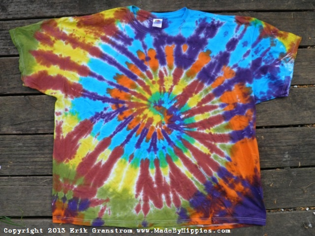 Cosmic Spiral Tie Dye T-Shirt.