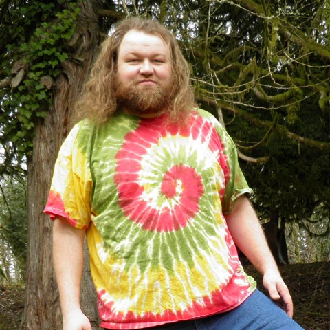 Wholesale Rastaman Spiral Tie Dye T-Shirt.