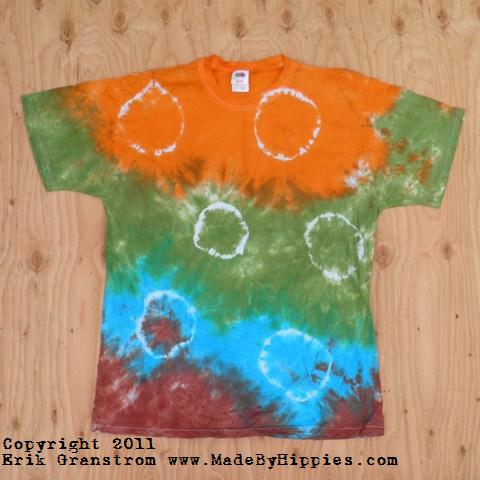 Mother Earth Spots N Dots Tie Dye T-Shirt.