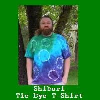 Shibori Tie Dye T-Shirt.