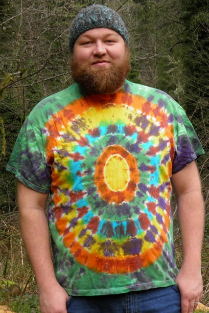 Cosmic Egg Tie Tie Dye T-Shirt.