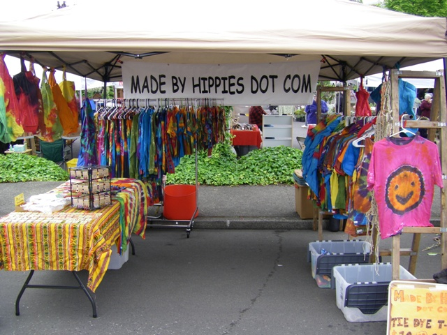Gresham Farmers Market - May 12th, 2010.